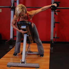 DB One-arm Incline Lateral Raise